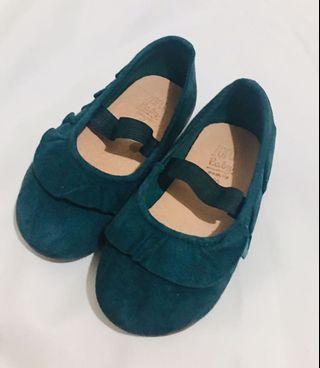 Zara Green Baby Shoes S20