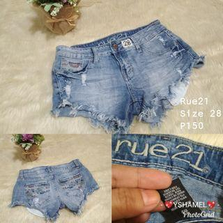 Reu21 Denim Shorts