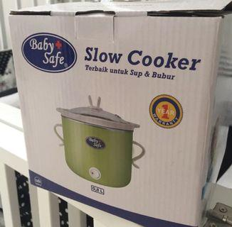 NEW Slow cooker - BABY SAFE (on/off mode)