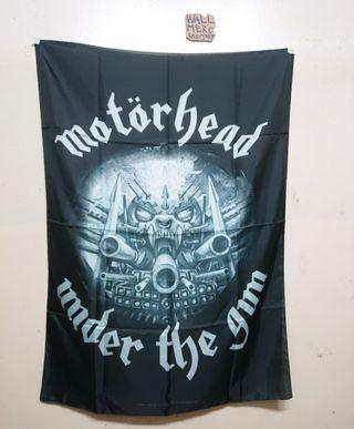 Official Poster flag MOTORHEAD
