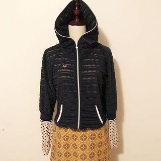 Le croq Sportif vintage hoodie size s