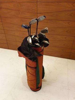Almost new golf set 12 pieces (Ladies set)