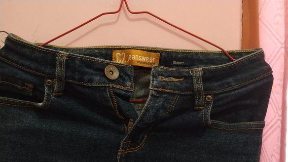 Skinny Jeans C2 ukuran M