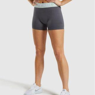 GYMSHARK WOMENS  FIT SHORTS  GREY