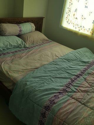 Bedcover set 160x200