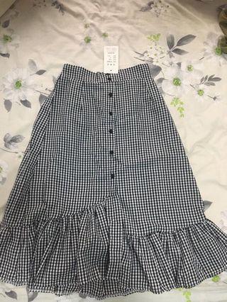 Checkered Gingham Mermaid Dress