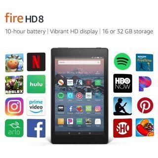 All-New Fire HD 8 Tablet (2018) 16GB