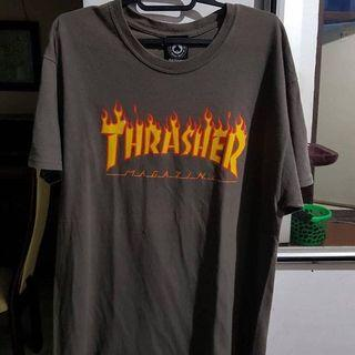 THRASHER FLAME TEE ORI