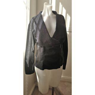 Size 10: Soft Leather Jacket