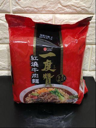 🚚 Taiwan instant noodle, Yi Du Zen, Beef flavor (一度贊 紅燒牛肉麵)