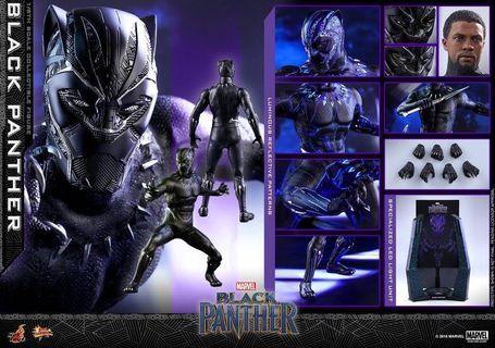 Hottoys 黑豹 Black Panther 6月27日 訂單 ($500+$1200)MMS470