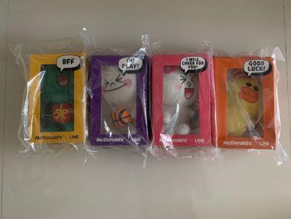 MacDonald's Line Plush Collectibles