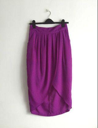 Dressing Paula Tulip Wrap Skirt