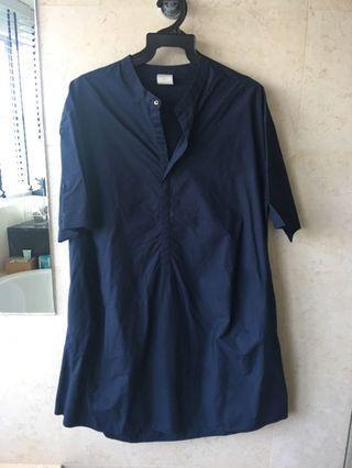 In good company Navy Blue shirt dress