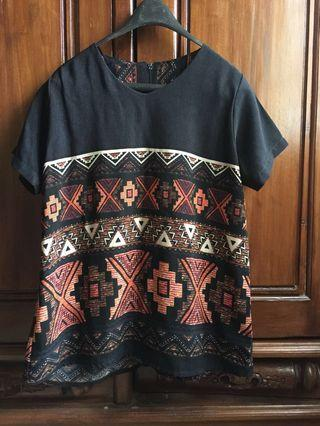 Blouse motif batik