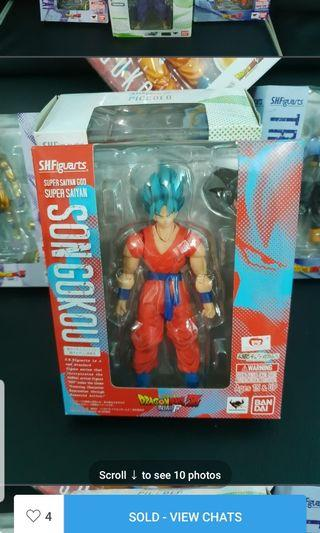 🚚 S.H.Figuarts SSGSS Goku Blue
