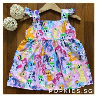 🌈My Little Pony Dress 1-8yo 🦄