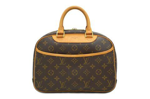Authentic LOUIS VUITTON Monogram Trouville Bag