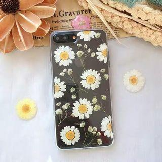 🚚 BNWT Real Pressed Flowers Transparent Case Huawei Mate 20