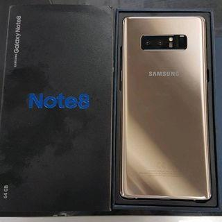 Samsung Note8 Gold