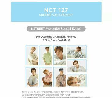 NCT 127 SUMMER KIT LOOSE ITEMS 11STREET