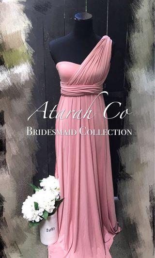 Bridesmaid Infinity Multiway Convertible Dress