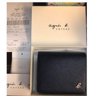 Agnes'b voyage 銀包