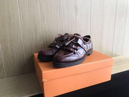 Tod's oxford fringes lace up shoes 綁帶皮鞋