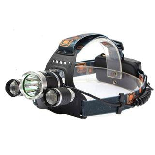"""""""Daylight 2.0"""" Ultra powered Headlamp 20,000 LM Rugged and durable! Lithium Ion battery included powered 100Watts"""