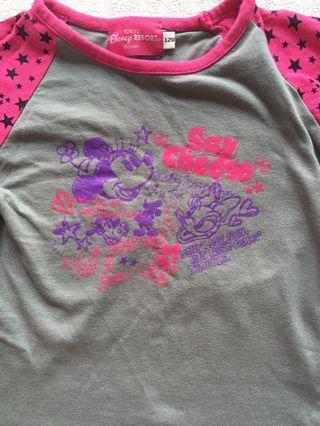 Tokyo Disney Cotton Sleeve