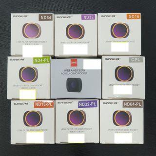 DJI Osmo Pocket Filter / Wide Angle Lens
