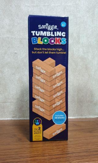 Smiggle Tumbling Blocks Stakable Game