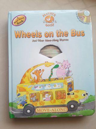 Nursery rhymes book with CD