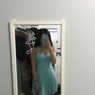 teal talula lipinski dress