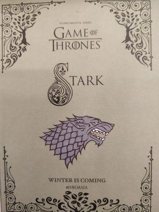 🚚 GAME OF THRONES NOTE BOOK FULL SET!