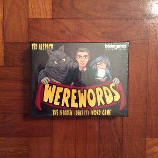 Werewords party game