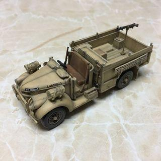 1/72 WWII British Long Range Desert Group Car