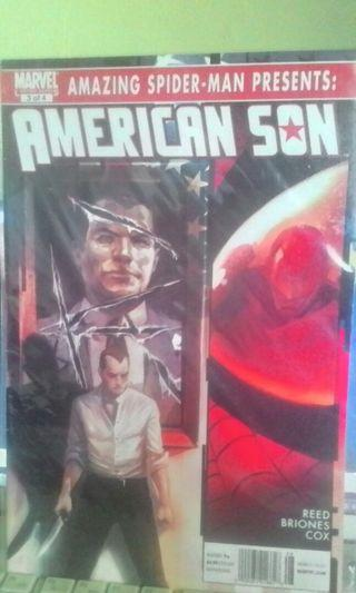 The Amazing Spider-Man American Son #3