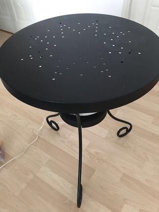 IKEA  Round Metal Table