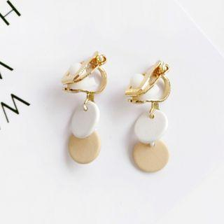 (INSTOCK) Dainty Circle Clip On Earrings