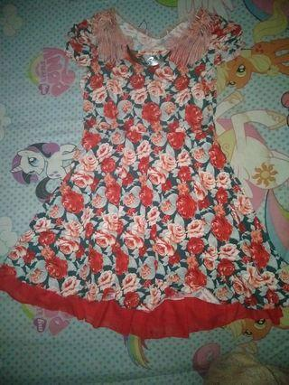 Dress flower payung