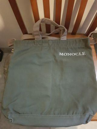 Tote Bag Monocle Voyage