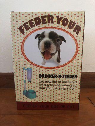 🚚 BNIB Water bottle/bowl for pets