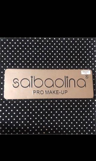 Saibaolina12色眼影盤-大地色