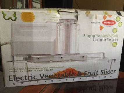🚚 Electric Vegetable & Fruit Sicer