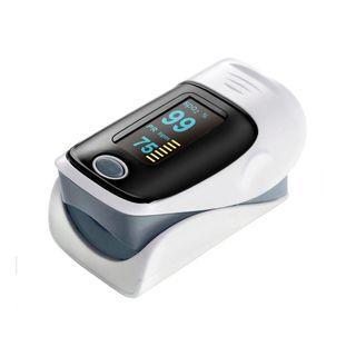 (BN) QUMOX Finger Pulse Oximeter - Grey (Brand New)
