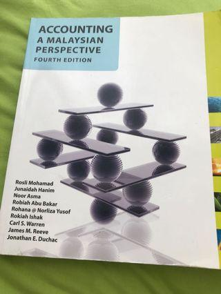 Accounting a malaysian perspective book