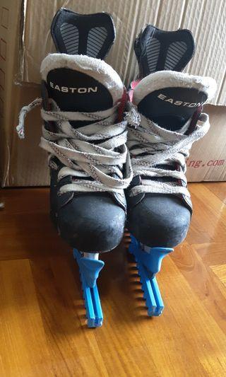 Ice hockey 鞋,easton size 2EE