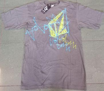 Volcom Numbers basic T-shirt grey