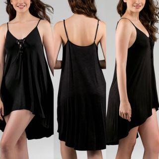 Dorina 🌞 Fiji Black swimwear Dress